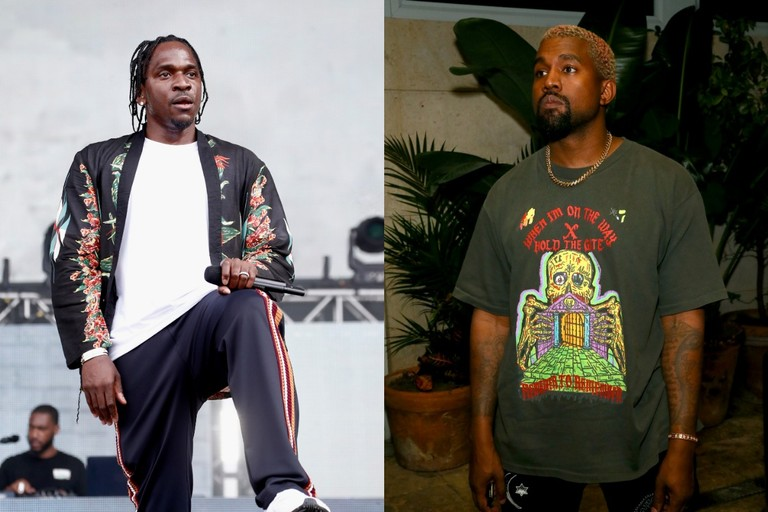 pusha t kanye west lawsuit daytona come back baby
