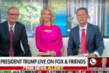 Trump Calls 'Fox & Friends' on His 73rd Birthday