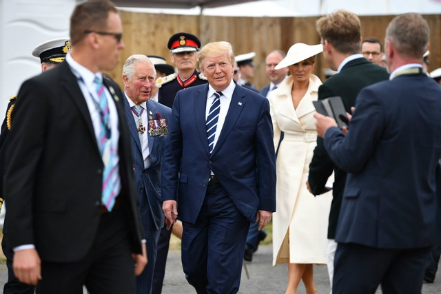 """Trump Tweets Bragging About Time Spent with """"Prince of Whales"""""""