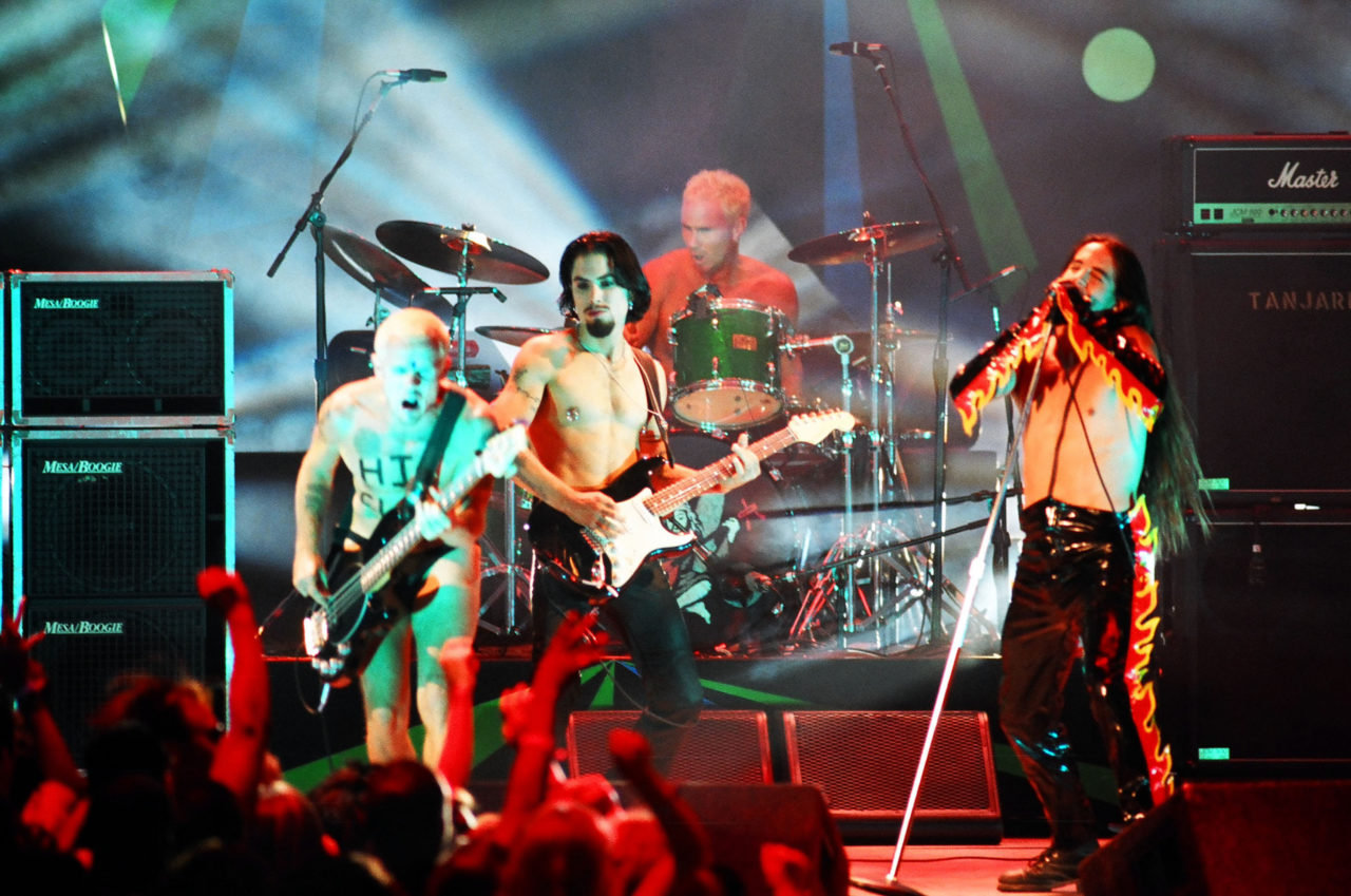 Red Hot Chili Peppers MTV VMAs 1995