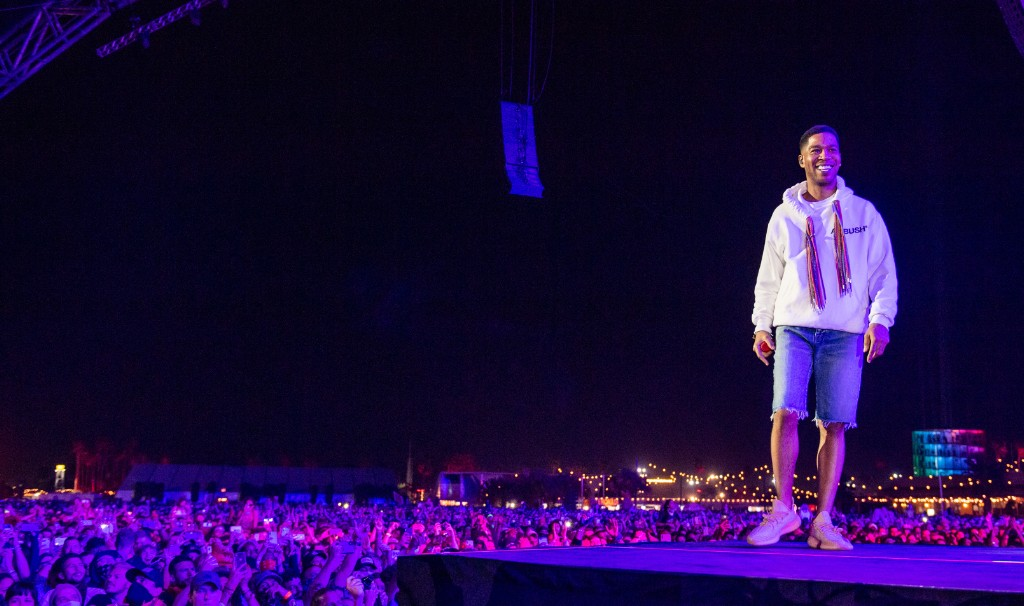 "Kid Cudi Says He Wasn't Drunk, Just ""Trippin Balls"" in Viral MGMT Coachella Video"