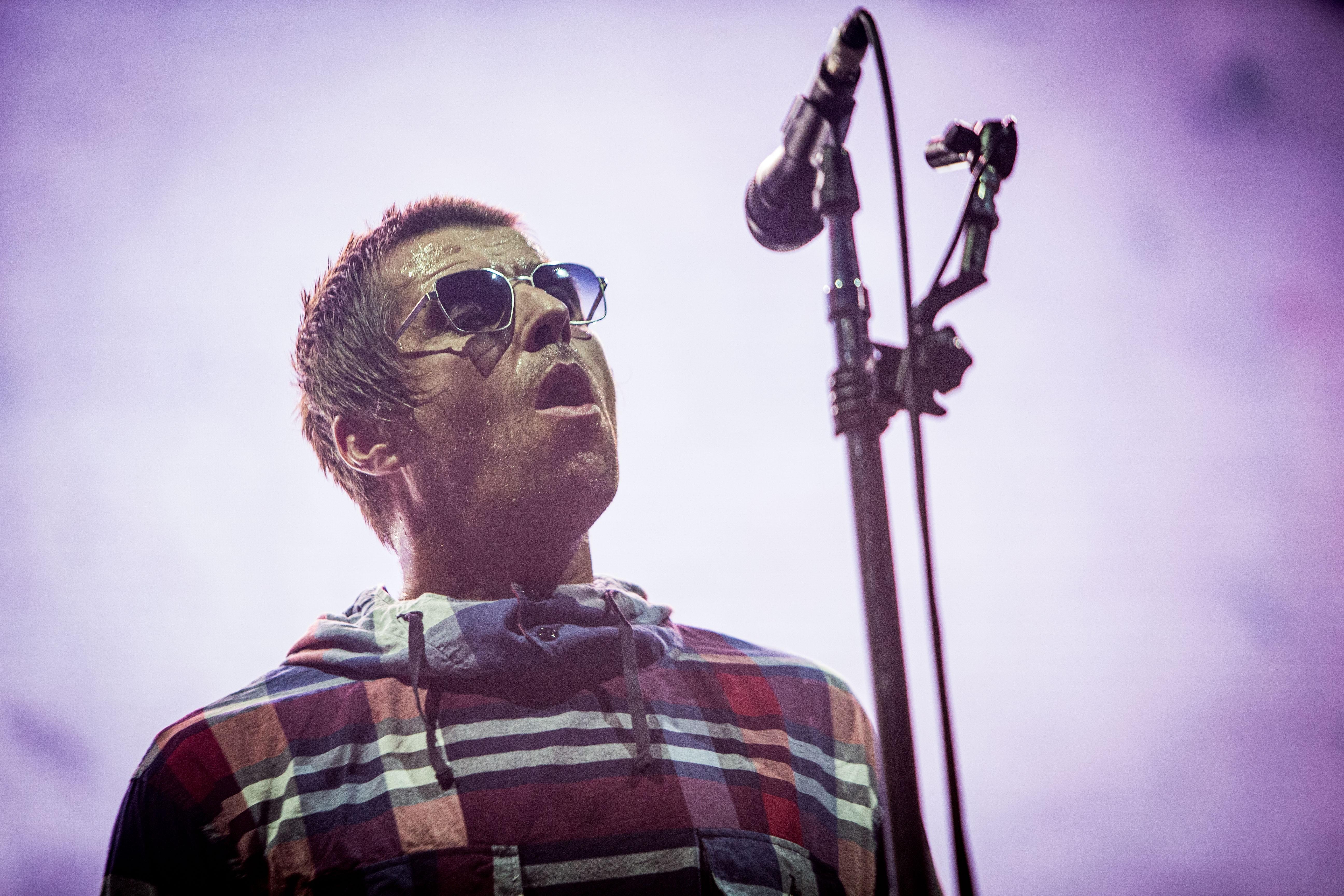 Liam Gallagher Perform At Collisioni Festival Barolo