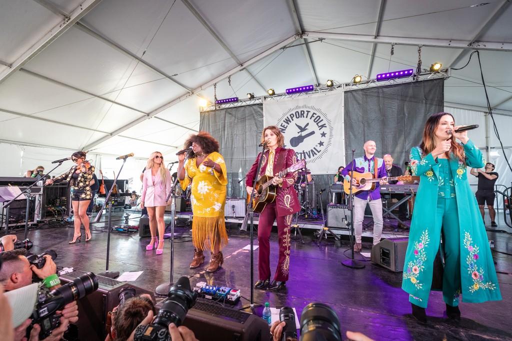 The Highwomen Play Their First Show at Newport Folk Festival: Watch