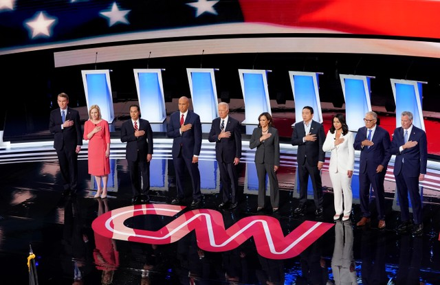 CNN's Democratic presidential debate, night 2