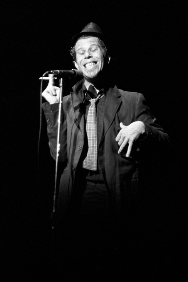 Tom Waits in Concert at the Agora Ballroom in Atlanta - November 7, 1978