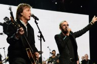 Watch Paul McCartney Bring Out Ringo Starr to Play Beatles Classics in L.A.