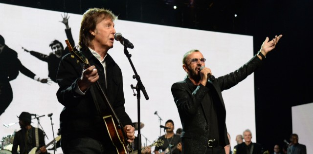 Paul McCartney Brings Out Ringo Starr to Play Beatles Classics in