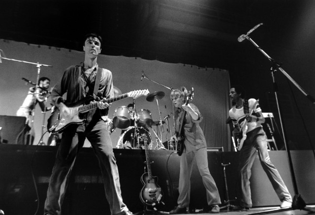 Talking Heads - David Byrne, Belgrade, Yugoslavia - 1982