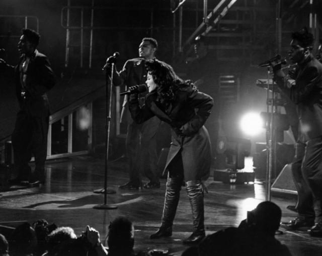 Janet Performing