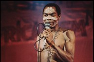 Fela Kuti: Our 1986 Interview