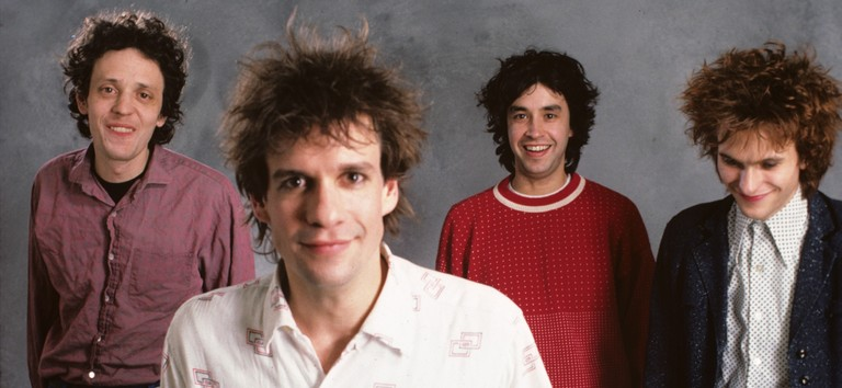 Photo of REPLACEMENTS and Slim DUNLAP and Paul WESTERBERG and Chris MARS and Tommy STINSON