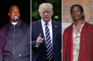 Donald Trump Says He Talked to Kanye West About A$AP Rocky