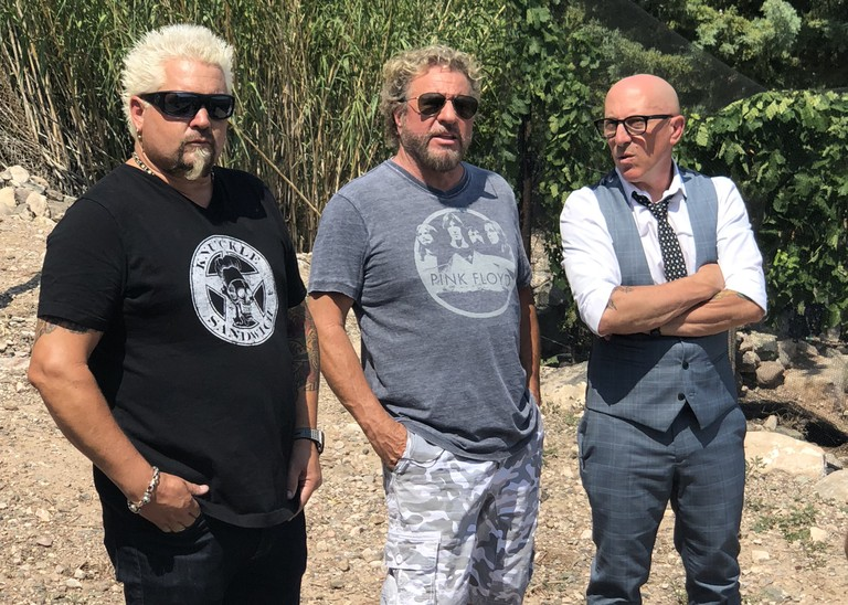Maynard James Keenan Tool Sammy Hagar Guy Fieri Joni Mitchell