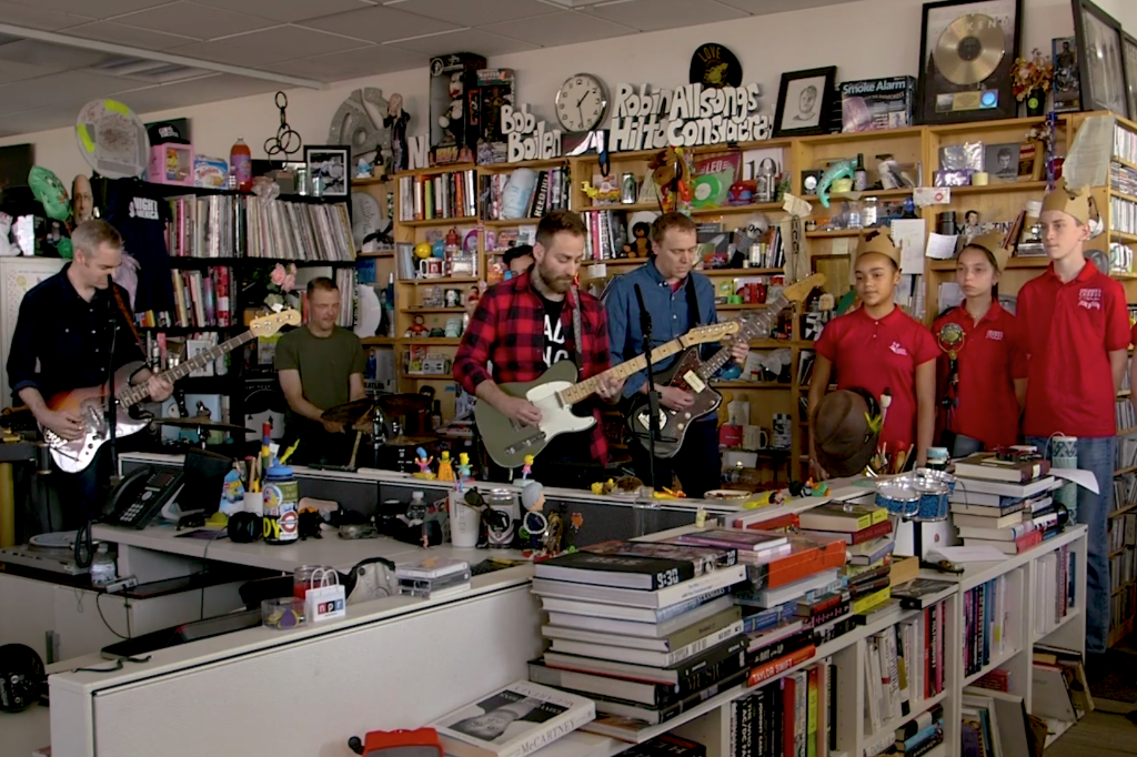 Watch American Football's Suitably Emo Tiny Desk Concert