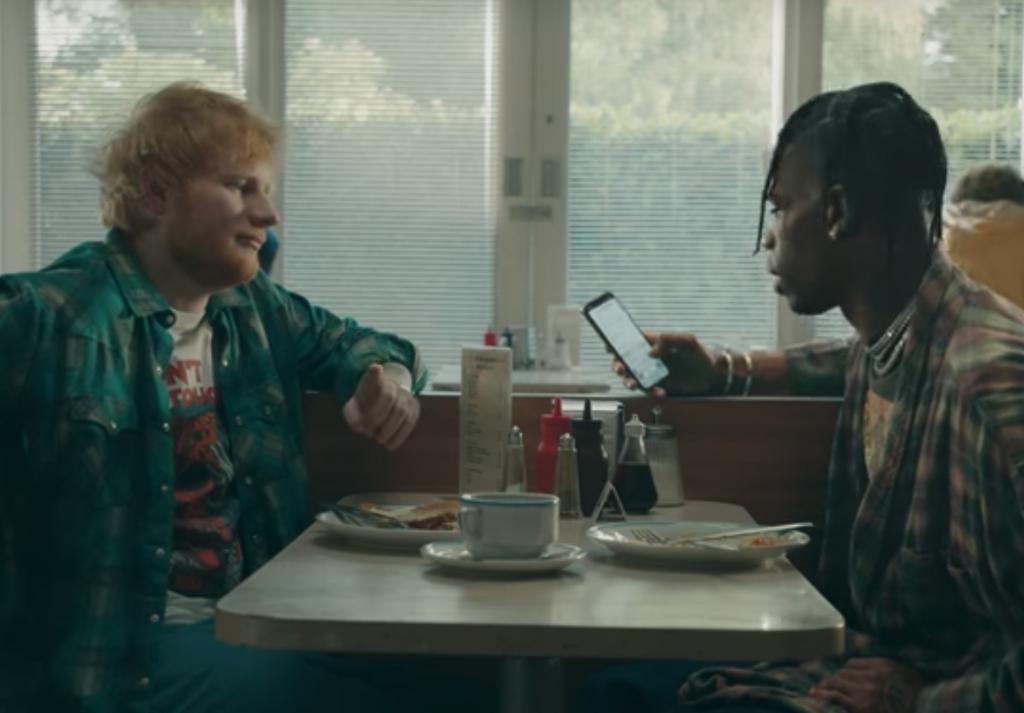 "Ed Sheeran and Travis Scott Release ""Antisocial"" Video: Watch"