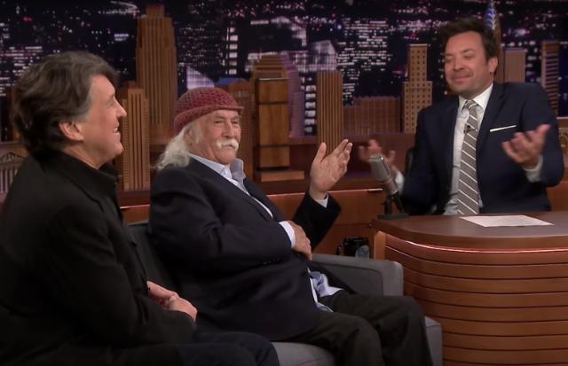 David Crosby Jimmy Fallon Cameron Crowe Interview Watch