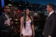"Cardi B and Offset Perform ""Clout"" on 'Kimmel'"
