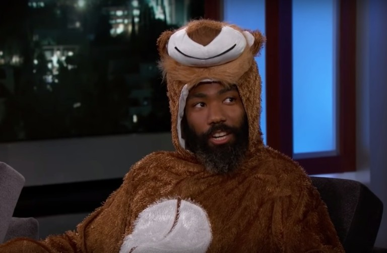 Donald Glover Talks 'Lion King' on 'Jimmy Kimmel Live'