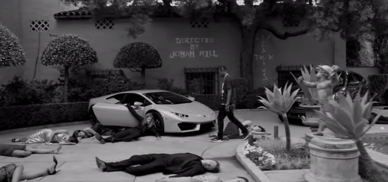 travis scott jonah hill wake up video