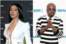Cardi B and Jermaine Dupri