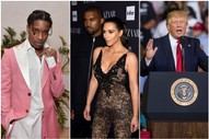 Kanye West, Kim Kardashian Lobbied Trump Administration to Take Action in A$AP Rocky Case: TMZ