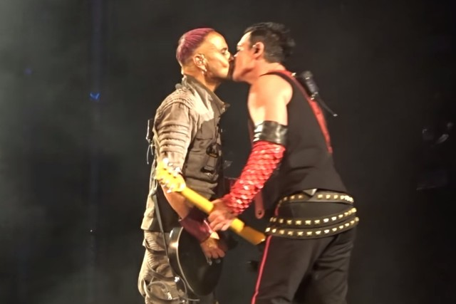 Rammstein Members Kiss Onstage In Russia To Protest Anti-LGBTQ+ Policies