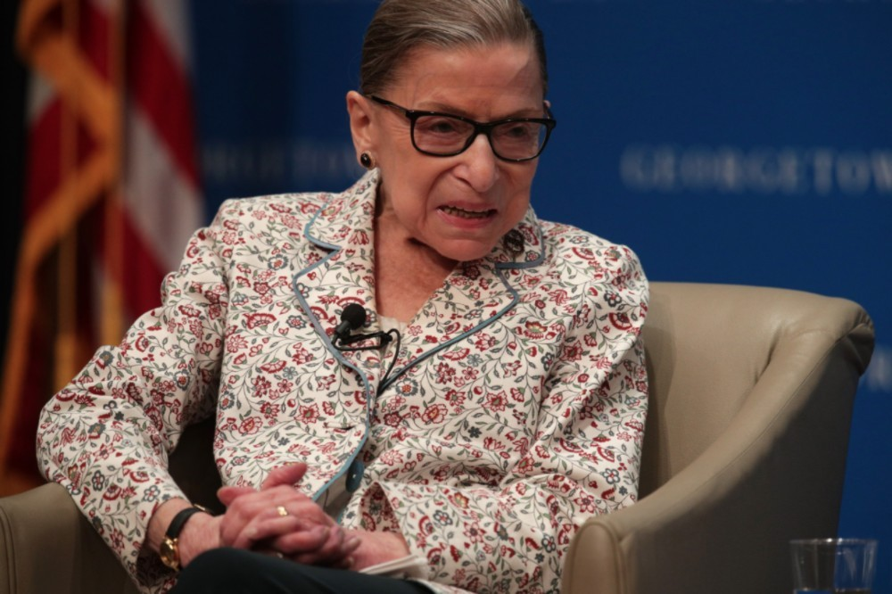 """Ruth Bader Ginsburg: """"I Am Very Much Alive"""""""
