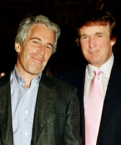 Watch Donald Trump and Jeffrey Epstein Ogle Women at a Party in 1992