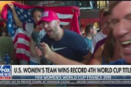 """Trump Got Mad About the """"Fuck Trump"""" World Cup Chant on Fox News"""