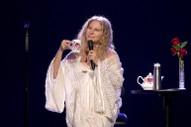 "Barbra Streisand Mocks Trump With ""Send In The Clowns"" Parody"