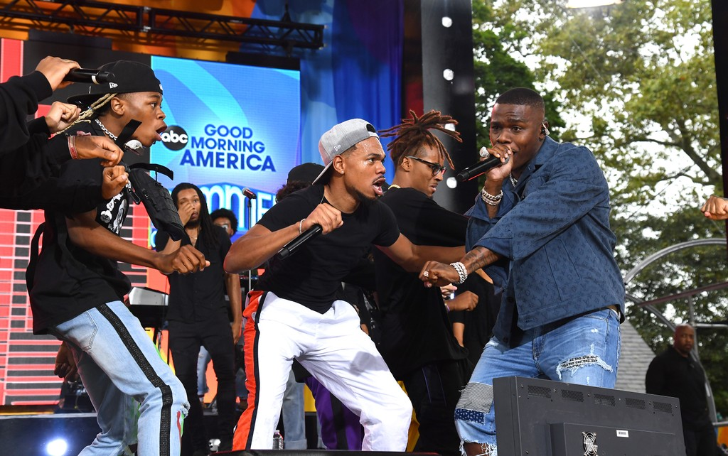 Watch Chance the Rapper Play Five Songs on Good Morning America