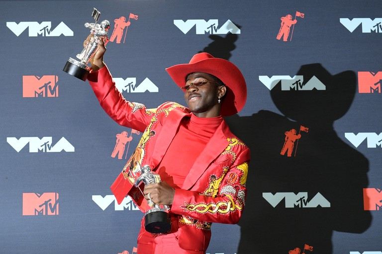 Lil Nas X wins at the VMAs