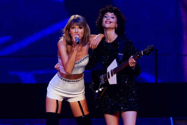 St  Vincent Wrote a Song for Taylor Swift's New Album | SPIN