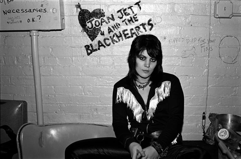 Joan Jett In New York