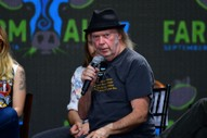 Neil Young Will Not Tour With Crazy Horse This Year Because He Is Working On 15 Film Projects