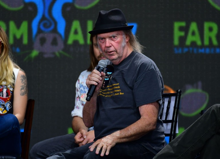 Neil Young 15 Film Projects Crazy Horse Tour