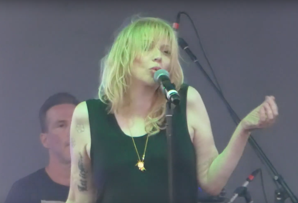 Courtney Love Plays Hole Songs, Covers Echo and the Bunnymen at Lykke Li's Music Festival