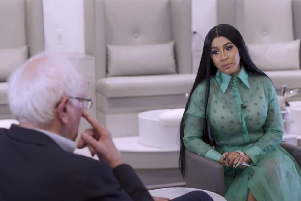 Cardi B Interviews Bernie Sanders: Watch