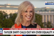 "Kellyanne Conway Responds to Taylor Swift's VMA Speech, Sings ""You Need to Calm Down"" on Fox News"