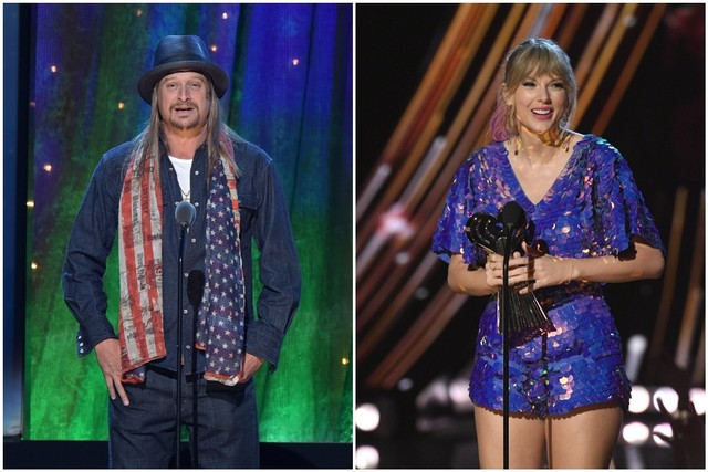 Chrissy Teigen Calls Kid Rock 'Pathetic' for Criticising Taylor Swift