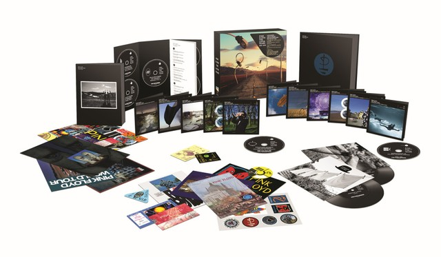 Pink Floyd The Later Years Box Set 16 Disc David Gilmour