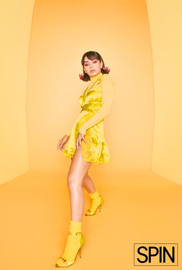 Charli XCX in SPIN's September 2019 cover story