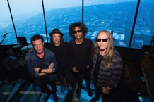 Alice in Chains: Sean Kinney, Mike Inez, William DuVall, and Jerry Cantrell