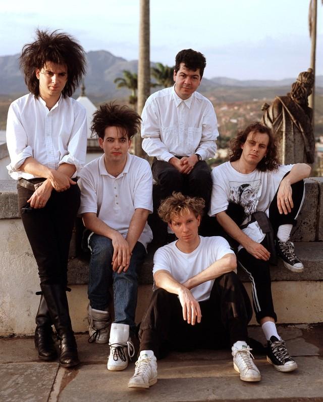 The Cure Group Portrait