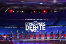 Candidates at the Third Democratic Presidential debate 2019