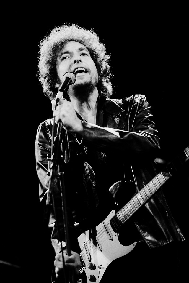 Bob Dylan Onstage