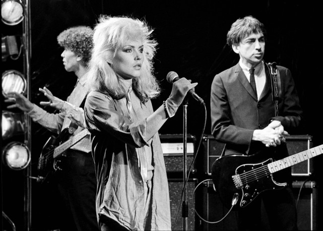 Nigel Harrison Debbie Harry And Chris Stein Of Blondie