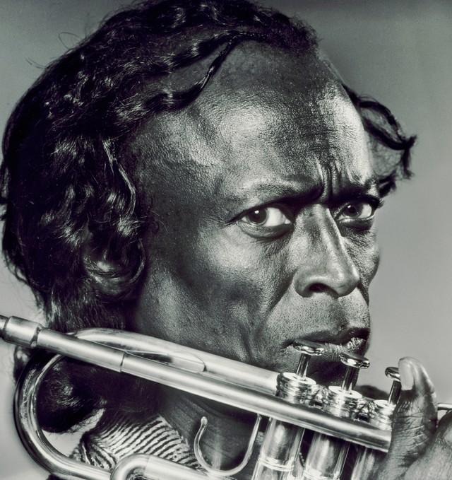 Miles Davis with Trumpet