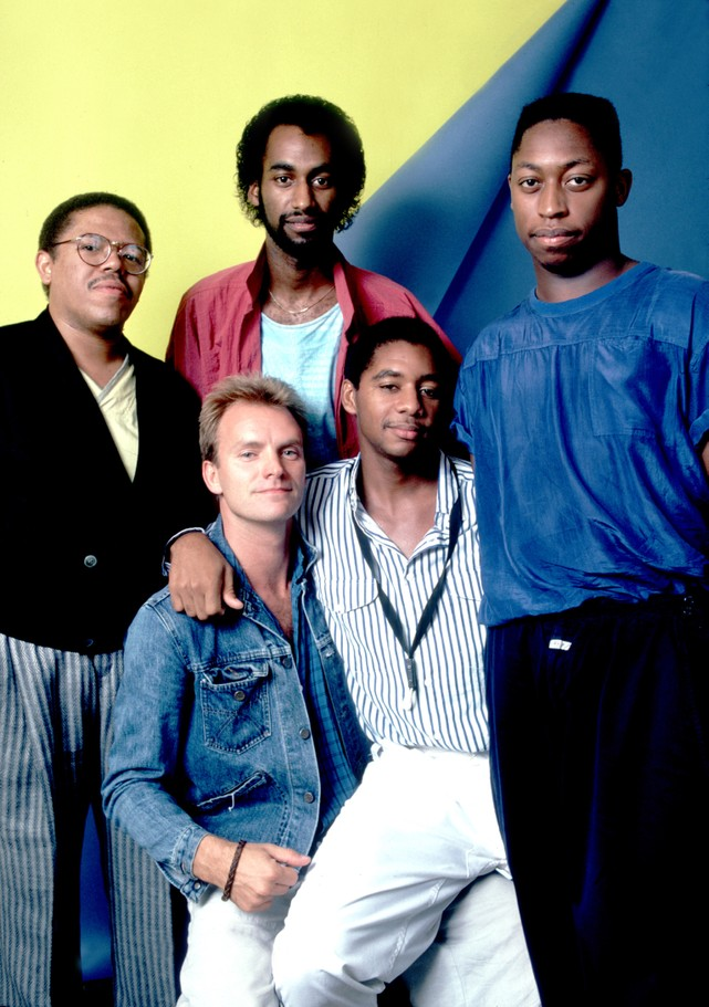 Portrait Of Sting & Band