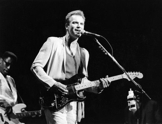 Sting - Musiker, GB/ Konzert in Berlin